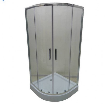 Душевая кабина Veronis KN-3-100 100х100х195, прозрачное стекло