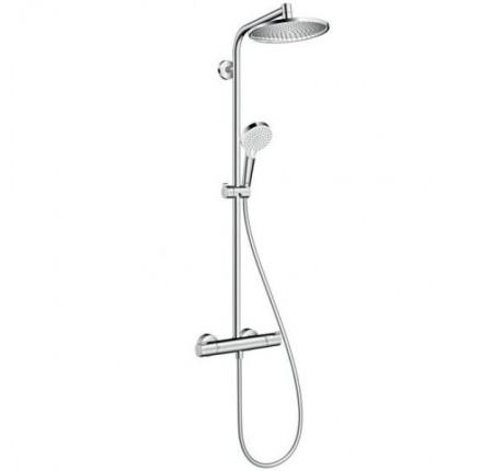 Душевая система Hansgrohe Crometta E 240 1jet Showerpipe 27267000