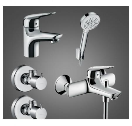 Набор для ванной комнаты Hansgrohe Novus 70 710242664 для ванны 4 в 1