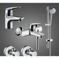 Набор для ванной комнаты Hansgrohe Novus 70 710242774 для ванны 4 в 1