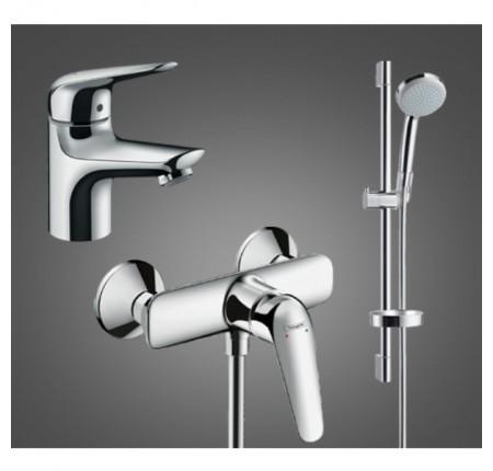 Набор для ванной комнаты Hansgrohe Novus 100 710362773 для душа 3 в 1
