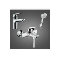 Набор для ванной комнаты Hansgrohe Novus 100 710342663 для ванны 3 в 1