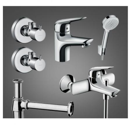 Набор для ванной комнаты Hansgrohe Novus 100 710342665 для ванны 5 в 1