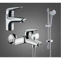 Набор для ванной комнаты Hansgrohe Novus 100 710342773 для ванны 3 в 1
