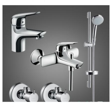 Набор для ванной комнаты Hansgrohe Novus 100 710342774 для ванны 4 в 1