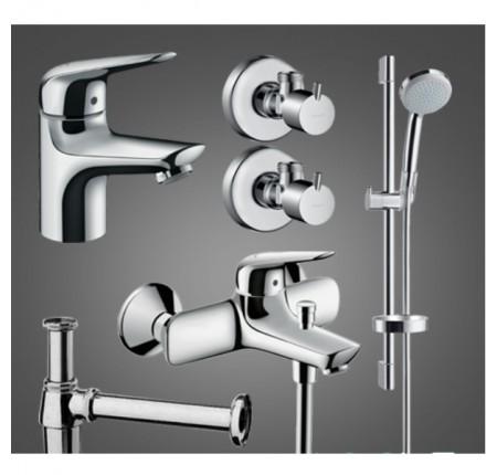 Набор для ванной комнаты Hansgrohe Novus 100 710342775 для ванны 5 в 1