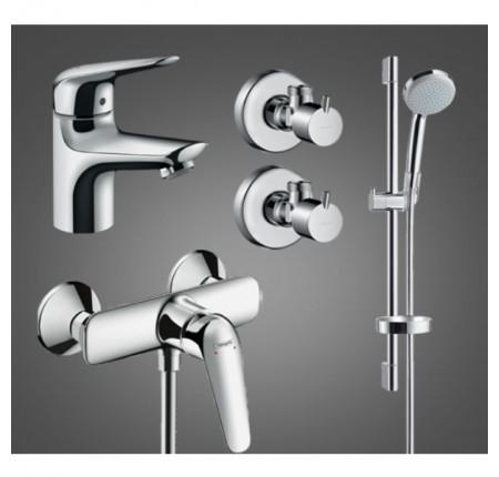 Набор для ванной комнаты Hansgrohe Novus 100 710362774 для душа 4 в 1