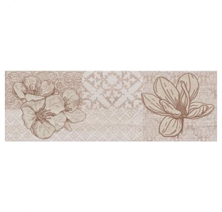 Декор настенный Cersanit Marble Room Patcwork flowers 20x60 (шт)