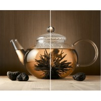 Панно Golden Tile Karelia English Tea 50x40 (компл 2 шт)