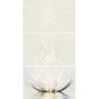 Панно Golden Tile Magic Lotus 40x75 (компл 3 шт)