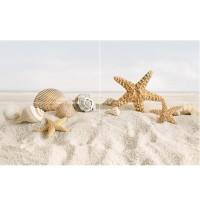 Панно Golden Tile Summer Stone Holiday 50x80 (компл 4 шт)
