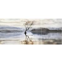 Панно Golden Tile Wanaka 120x50 (компл 6 шт)