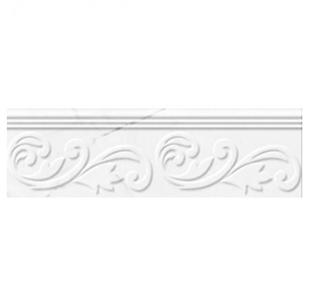 Фриз Golden Tile Absolute Modern White 30x9 (шт)