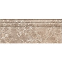 Плинтус Golden Tile Lorenzo Modern Dark Beige 30x12 (шт)