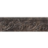 Фриз Golden Tile Lorenzo Modern Brown 30x9 (шт)