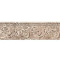 Фриз Golden Tile Lorenzo Modern Dark Beige 30x9 (шт)