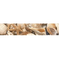 Фриз Golden Tile Sea Breeze Shells Beige 30x6 (шт)