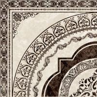 Декор напольный Golden Tile Вулкано Beige 40x40 (шт)