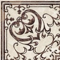 Напольный бордюр угловой Golden Tile Вулкано Beige 9,3x9,3 (шт)