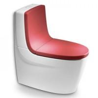 Сиденье с крышкой для унитаза Roca Khroma 801652F3T soft-close + спинка 80165AF3T