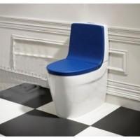 Сиденье с крышкой для унитаза Roca Khroma 801652F4T soft-close + спинка 80165AF4T