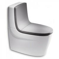 Сиденье с крышкой для унитаза Roca Khroma 801652F2T soft-close + спинка 80165AF2T