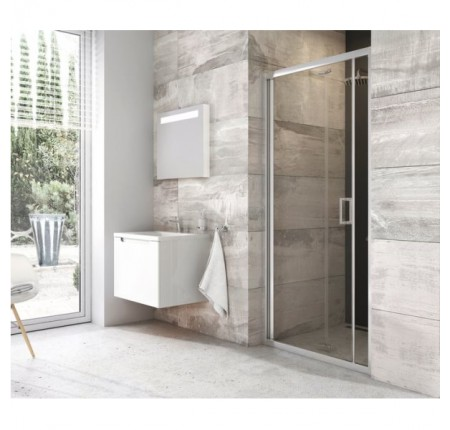 Душевая дверь Ravak Blix BLDZ2 90 X01H70C00Z1 полир. алюм+transparent