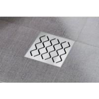 Трап Ravak SN501 105x105 / 50, X01435 сетка - нержавеющая сталь