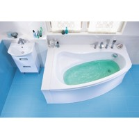 Ванна асимметричная Cersanit Sicilia 150x100 L/R