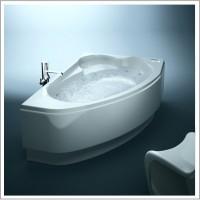 Ванна асимметричная Cersanit Kaliope 170x110 L/R