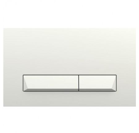 Кнопка смыва Imprese i8040W PAN Laska белая