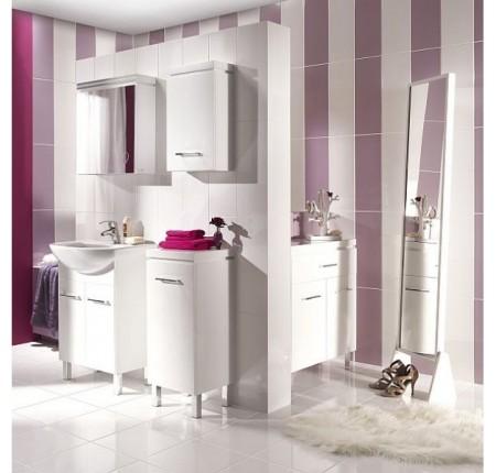 Шкафчик с зеркалом Cersanit Olivia S543-011