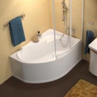 Ванна асимметричная Ravak Rosa I 140x105 L/R