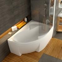 Ванна асимметричная Ravak Rosa 2 PU Plus 150x105 L/R