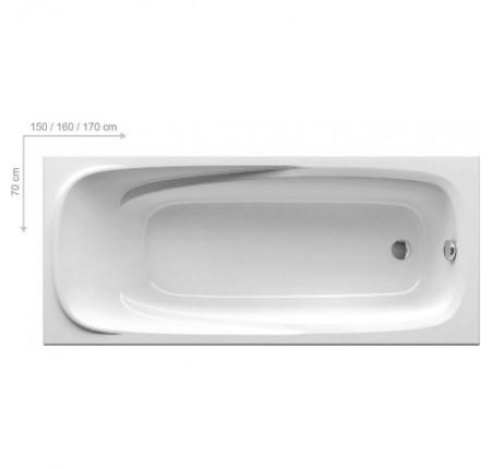 Ванна прямоугольная Ravak Vanda II 170x70