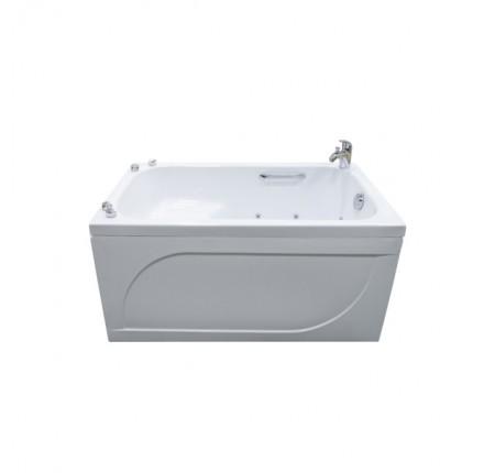 Ванна прямоугольная Triton Арго 120x70, с сиденьем