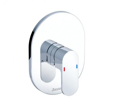 Смеситель скрытого монтажа для ванны, душа Ravak Chrome CR 066.00 для R-box без переключателя