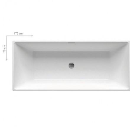 Ванна отдельно стоящая Ravak Freedom R 175x75