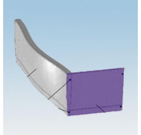 Панель боковая для ванны Ravak Magnolia 75 L/R