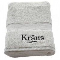Банное махровое полотенце KRAUS