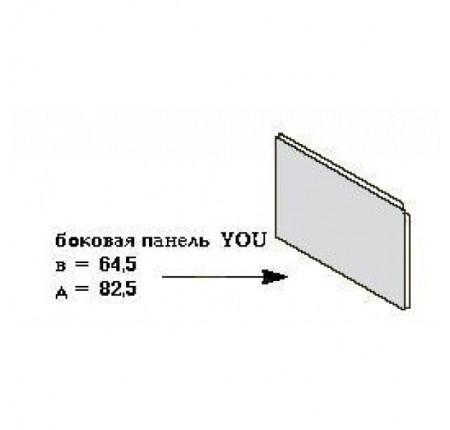 Панель боковая для ванны Ravak You L/R с креплением