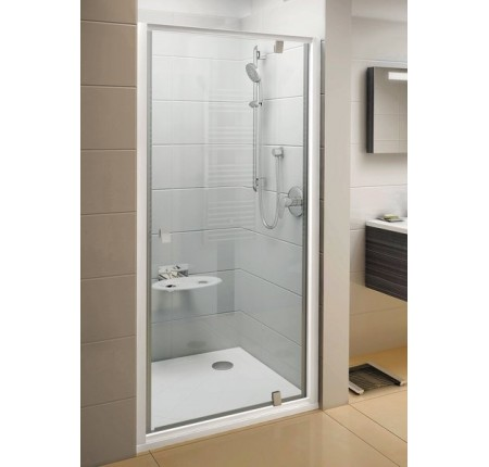 Душевая дверь Ravak Pivot PDOP1-90 03G70U00Z1 сатин+transparent
