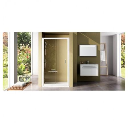Душевая дверь Ravak Rapier NRDP2-120 L/R белый+transparent