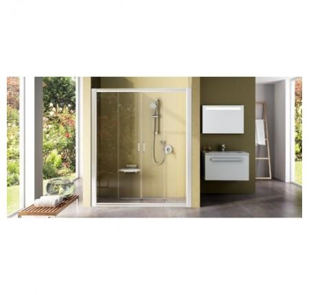 Душевая дверь Ravak Rapier NRDP4-130 0ONJ0100Z1 белый+transparent