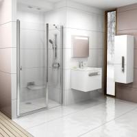 Душевая дверь Ravak Chrome CSD2-100 0QVAC100Z1 белый+transparent