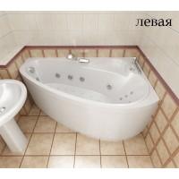 Ванна асимметричная Triton Пеарл-Шелл 160х104 левая / правая