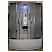Гидромассажный бокс Atlantis ALK-1108M 150x85x220 черный / белый