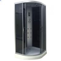 Гидромассажный бокс Atlantis AKL-100P-T 100x100x215 черный / белый