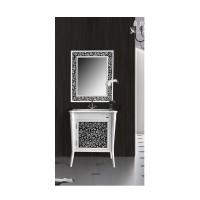 Зеркало Ольвия (Атолл) Valensia 75 bianco