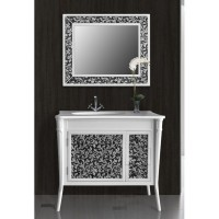 Зеркало Ольвия (Атолл) Valensia 100 bianco